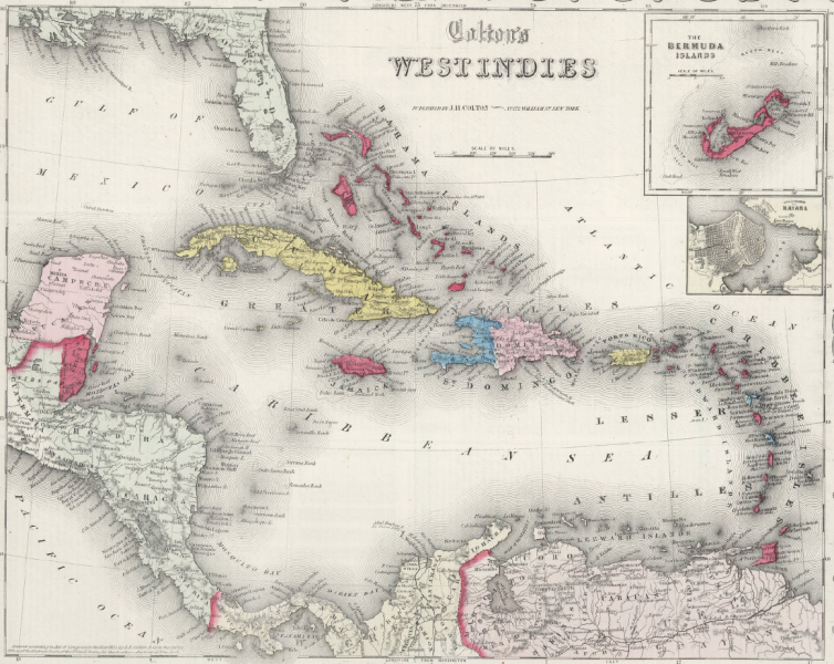 Old Maps - Caribbean maps